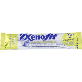 Xenofit Carbohydrate Gel Box 30x25g, Citrus-Mix